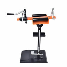 Manual Tire Spreader Motorcyclecar Tire Changer With Attached Tool Tray Tilting