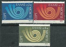 GRECIA EUROPA cept 1973 Sin Fijasellos MNH