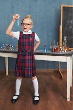 School Uniform Girls Teens Uniform Plaid Jumper Multiple Colors Brand New W/Tags