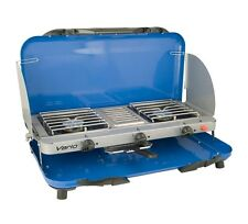 Campingaz Vario Double Burner LPG Camping Stove and Grill - RRP £99.99 -