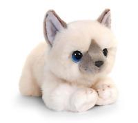 CUDDLE KITTENS WHITE PLUSH SOFT TOY CAT 25CM STUFFED ANIMAL KEEL TOYS