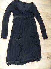 MC PLANET Élégant Robe noir Taille 40 Top bb1117