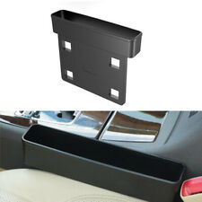 1PC Car SUV's Seat Gap Catcher Storage Box Organizer Coin Console Side Pocket
