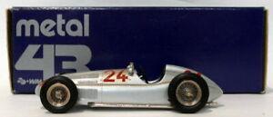 Metal 43 Western Models 1/43 Scale - Mercedes Racing Car #24