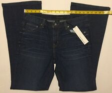 NWT Women's Ladies 10 ( 30 x 32 ) Calvin Klein Flare Fit Jeans