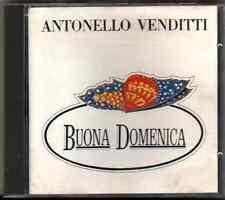 ANTONELLO VENDITTI BUONA DOMENICA (PHILIPS 832 159-2) made in italy TIMBRO SIAE