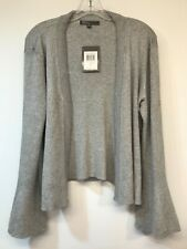 89TH & MADISON Women's Medium Sweater Cardigan Bell Sleeve Flyaway NEW WITH TAG