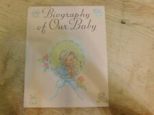 Biography of Our Baby 1941 Book Unused Birth to Seven Years