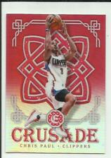 Chris Paul 2016-17 Panini Excalibur Crusade Red #37  #82/99 Los Angeles Clippers