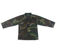 Rothco Kids Woodland Camo BDU Shirt