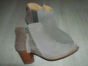 NEW VIONIC LEATHER SUEDE Boots Size UK 3 - BEIGE - See description