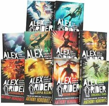 NEW SET of 10 ALEX RIDER books Anthony Horowitz Russian Roulette Scorpia