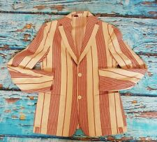 "Levis made crafted boating stripe blazer stripe  42"" CHEST BNWoT"