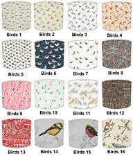 Lampshades Ideal To Match Vintage Garden Birds Cushions & Garden Bird Wallpaper
