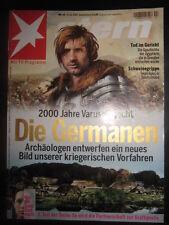 Stern Nr. 44 vom 22.10.2009 Varusschlacht Die Germanen Tod im Gericht