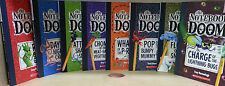 NOTEBOOK OF DOOM VOLUMES 1-8 JUVENILE BOOKS A FUNNY SERIES OF MONSTER STORIES!!