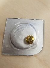 Omega yellow crown, watch parts 5mm dia., tap10, 2mm,  w/female post, genuine