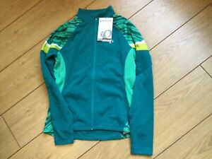 Pearl Izumi Womens Elite Thermal Cycling Jersey Size Small green