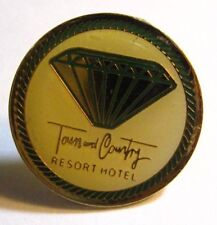 Town And Country Resort Hotel Lapel Pin - San Diego CA California USA Tie Tack