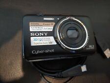 Sony Cyber-shot DSC-WX9 16.2MP Digital Camera Black - Excellent Condition!