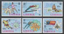 Liberia - 1976, Winter Olympic Games set - CTO - SG 1260/5 (h)