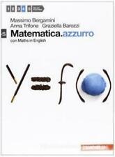 Matematica.azzurro 4S con Maths English, BERGAMINI, ZANICHELLI cod.9788808173232