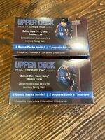 (Lot 2) 2016 Upper Deck Series 2 Hockey Sealed 12 Pack Blaster Box Laine Marner