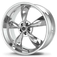 "Staggered AR605 Torq Thrust M 17x9,17x10.5 5x4.75"" +45mm Chrome Wheels Rims"