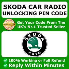 Skoda Radio Code Entsperren Code Bolero Fabia Swing Symphony Octavia Superb ✅