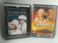 The great gatsby 2 versions Robert Redford, Mia Farrow, Mira Sorvino, Paul Rudd
