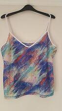 Per Una Women's Stretch Strappy, Spaghetti Strap Hip Length Tops & Shirts