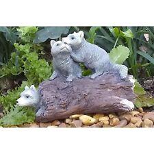 Miniature Dollhouse Fairy Garden - Rascally Raccoons - Accessories