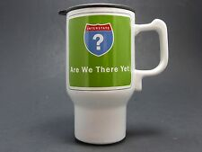 "Stir Interstate ""Are We There Yet"" Funny Novelty Travel Coffee Mug Tea Cup FS"