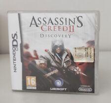 ASSASSIN'S CREED 2 DISCOVERY NINTENDO DS 2DS 3DS NUOVO SIGILLATO ITALIANO RARO