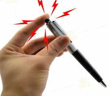 Electric Shock Pen Toy Practical Gadget Gag Joke Funny Prank Novelty gift New