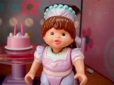 Fisher Price Loving Family Dollhouse Hispanic Princess Doll RARE Dream Castle