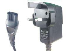 Reino Unido Cargador Cable de alimentación de 3 Pines Para Afeitadora Philips QT4050