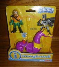 Imaginext DC Superfriends Aquaman Seahorse 2 Pack Superman Justice League