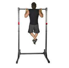 Exercise Stand Power Rack Pull Up Bar Weight Training Home Gym Fitness Squat