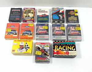 Lot of (15) Assorted NASCAR Racing Boxed Sets AW Maxx