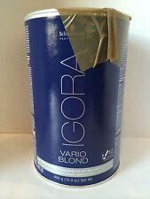 Schwarzkopf Igora Vario Blond Powder- Extra Power Up To 8 Level Of Lift - 15.9oz