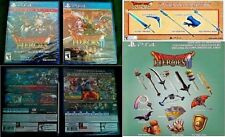 PS4 Dragon Quest Heroes I & II (Limited Editions) NEW SEALED +20 BONUS DLC Items