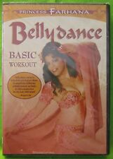 Princess Farhana: Belly Dance Basic Workout (DVD, 2007)