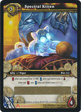 World of Warcraft SPECTRAL KITTEN LOOT card Unused Unscratched WOW NEW!
