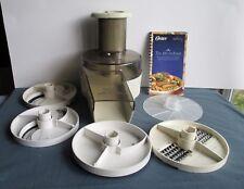 .Oster Kitchen Center Food/Salad Attachment 5 Cutting Discs  957-16F