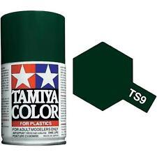 Tamiya TS-9 BRITISH GREEN Spray Paint Can 3 oz 100ml 85009 Mid-America Raceway