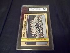1972-73 OPC O-Pee-Chee #276 Boston Bruins Stanley Cup Champs Orr - KSA 8.5 NMM+