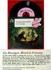 EP Ein Heurigen Abend in Grinzing 1958 Heliodor