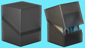 ULTIMATE GUARD BOULDER Onyx Standard Size DECK CASE 100+ NEW Card Storage Box