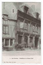 Hotellerie du Grand Cerf Les Andelys France postcard